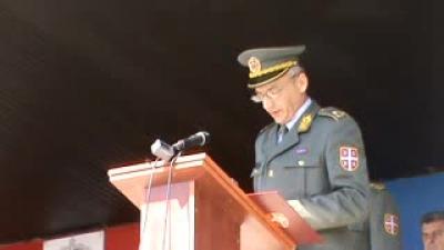 Primopredaja dužnosti komandanta 3. brigade Kopnene vojske