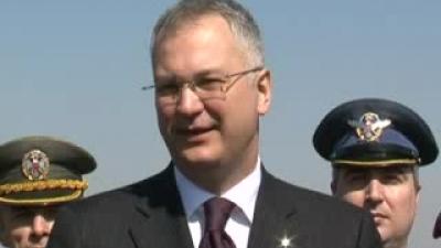 Министар Шутановац у Специјалној бригади у Панчеву
