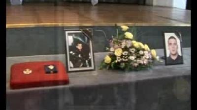 Koмеморација поводом погибије пилота пуковника Радета Ранђеловића и војника Милана Улемека