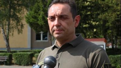 Министар одбране Александар Вулин